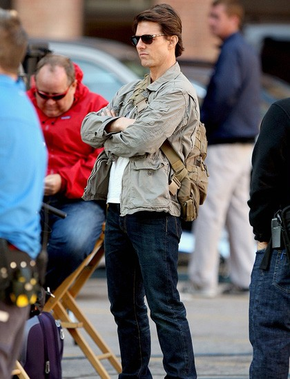 Tom Cruise si prepara alle riprese del film Innocenti bugie
