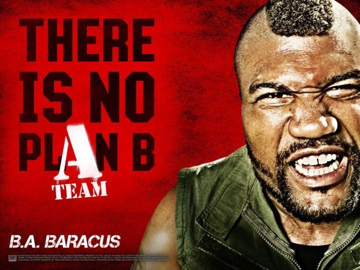 Wallpaper deal film A-Team con Quinton 'Rampage' Jackson
