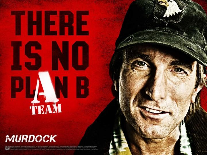 Wallpaper del film The A-Team dedicato a Sharlto Copley (Murdock)