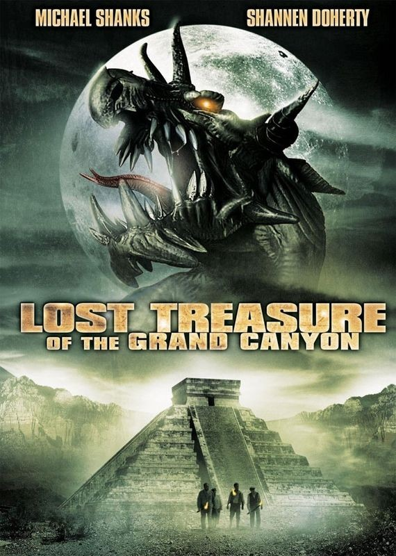La locandina di The Lost Treasure of the Grand Canyon