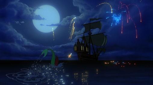 Una sequenza del film d\'animazione La sirenetta della Walt Disney