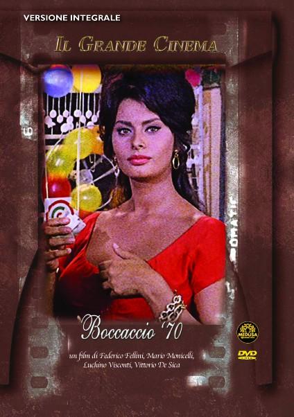 La copertina di Boccaccio '70 (dvd)