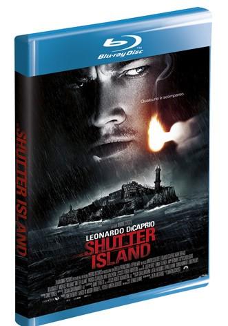 La copertina di Shutter Island (blu-ray)