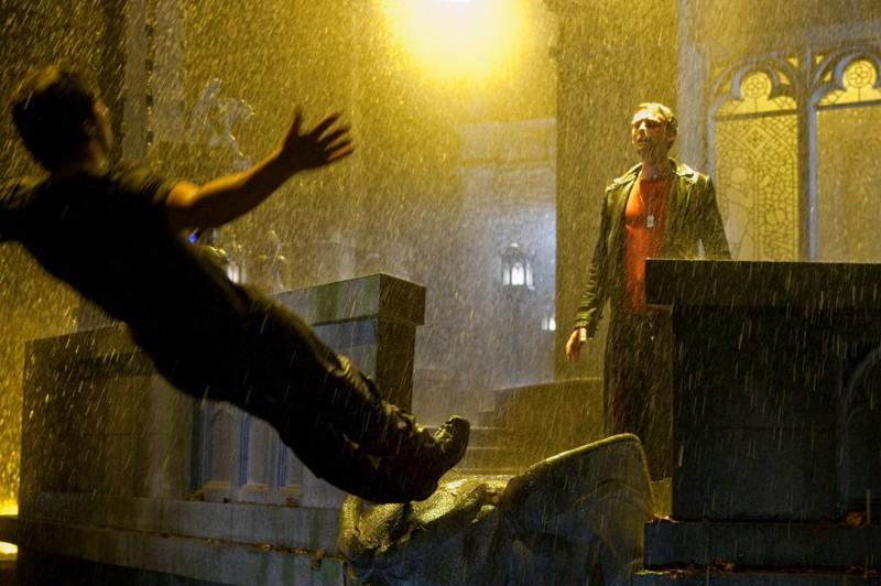 Tom Welling e Callum Blue nell'episodio Salvation di Smallville