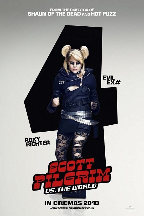 Character Poster per Scott Pilgrim vs. the World: ex n. 4, Roxy Richter