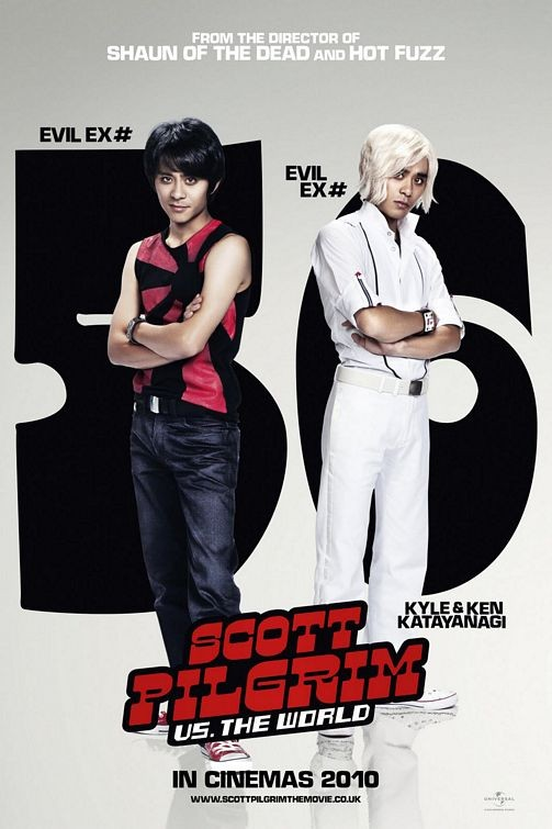 Character Poster per Scott Pilgrim vs. the World: ex n. 5 e 6, Kyle & Ken Katayanagi