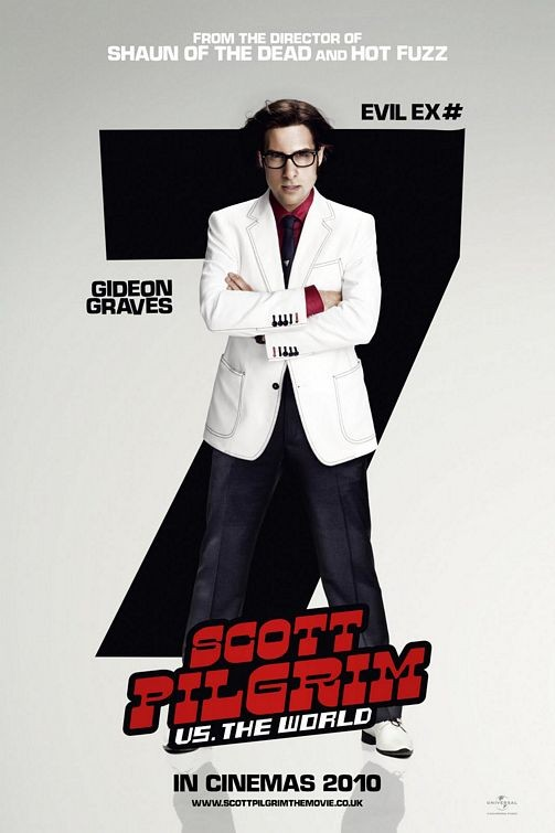 Character Poster per Scott Pilgrim vs. the World: ex n. 7, Gideon Graves