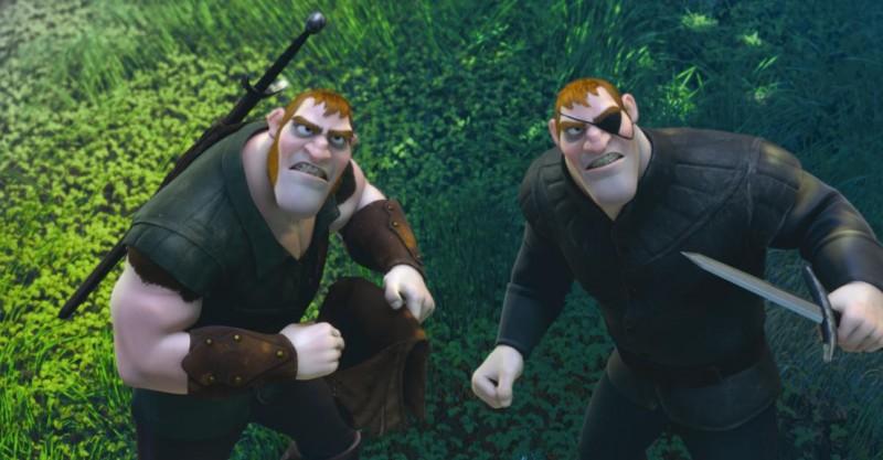 I pericolosi fratelli Stabbington nel film Rapunzel - L'intreccio della torre