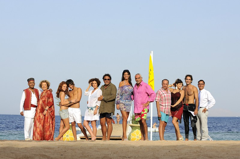 Il cast del film Sharm El Sheikh - Un'estate indimenticabile