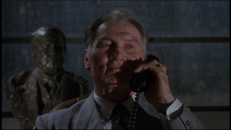 Jack Palance in una scena del film Batman