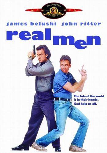 La locandina di Real men - noi uomini duri