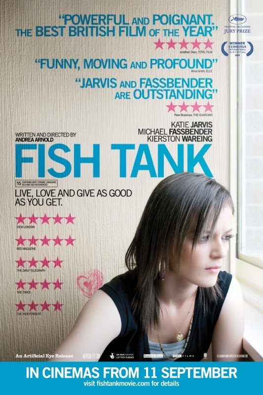 La locandina inglese di Fish Tank