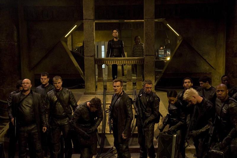 La Lucian Alliance pronta per l'incursione nell'episodio Incursion: Part 1 di Stargate Universe