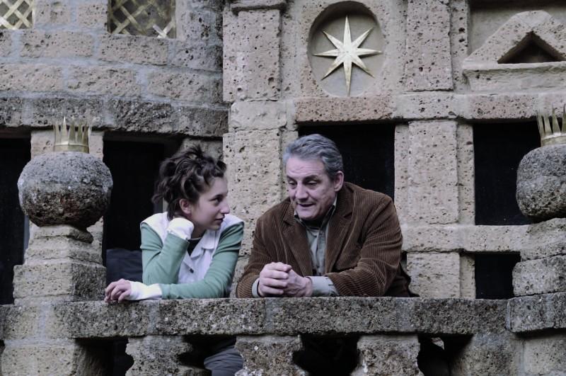 Marta Curci e Francesco Salvi in una scena di Butterfly Zone - Il senso della farfalla