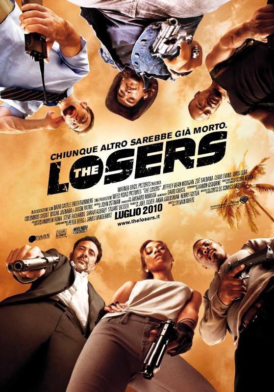 Poster italiano di The Losers