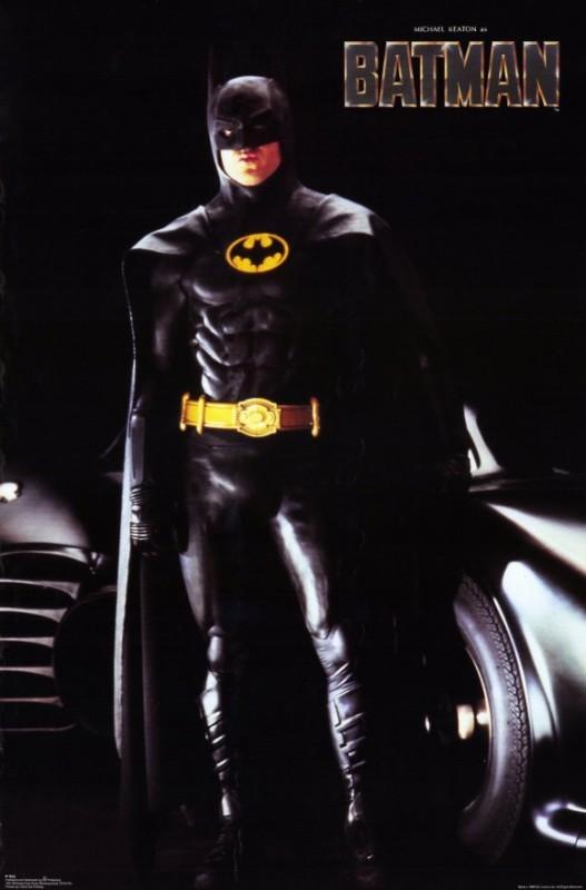 Poster promozionale del film Batman (1989) con Michael Keaton
