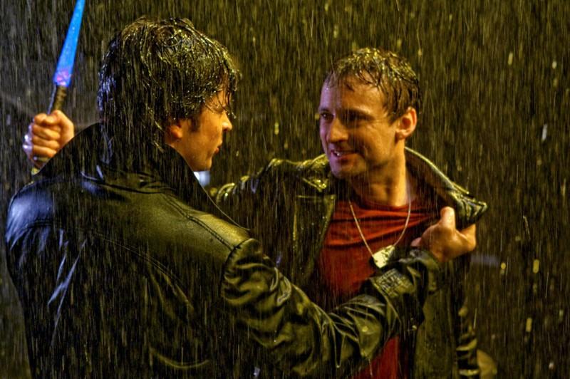 Tom Welling affronta Callum Blue nell'episodio Salvation di Smallville