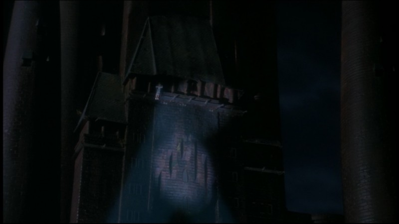 Una scena del film Batman di Tim Burton