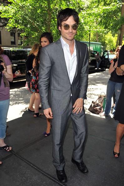 Ian Somerhalder agli UpFront 2010 della CW