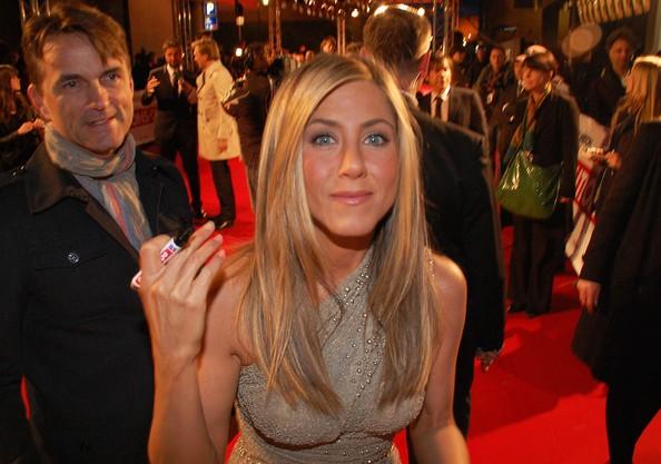 Jennifer Aniston alla prima berlinese di The Bounty Hunter