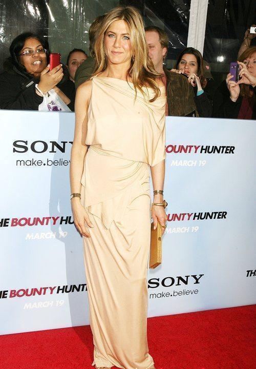 Jennifer Aniston alla premiere di The Bounty Hunter a New York