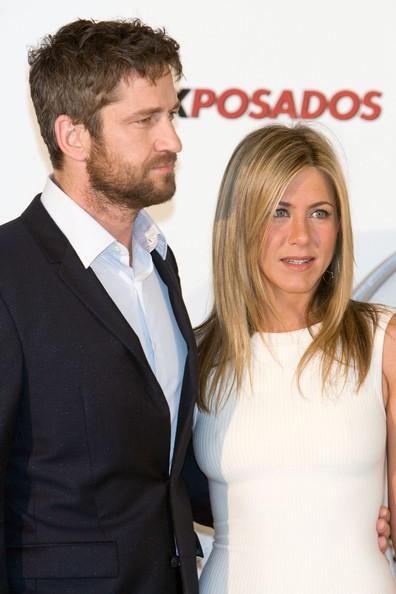 Jennifer Aniston e Gerard Butler alla prima madrilena di The Bounty Hunter