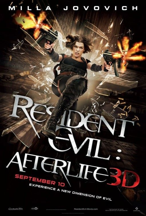 Nuovo poster USA per Resident Evil: Afterlife