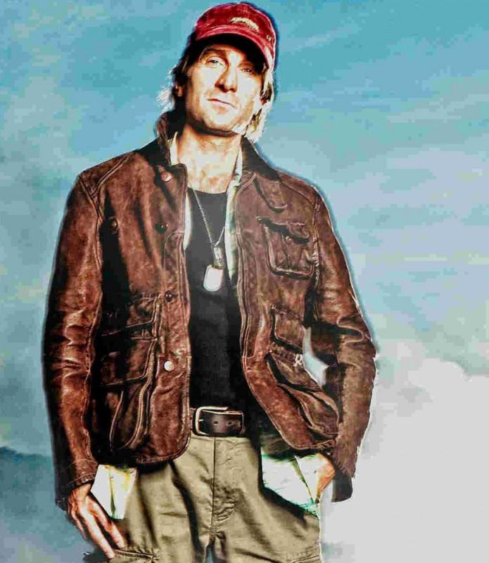 Sharlto Copley posa per il film The A-Team