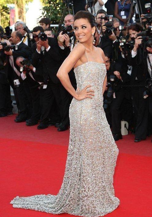 Eva Longoria splendida sul red carpet