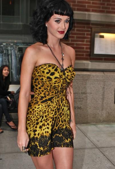 Katy Perry con un look selvaggio