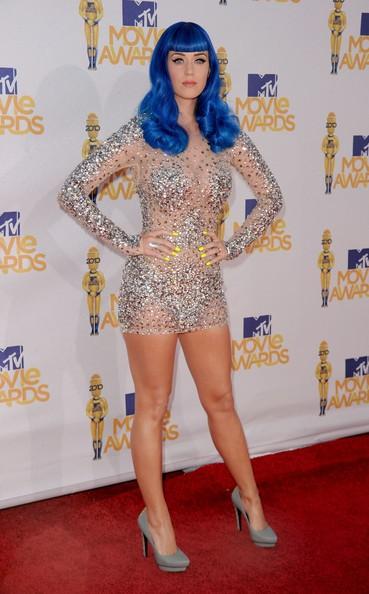 Katy Perry sul red carpet degli Mtv Movie Awards 2010