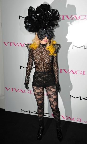 Lady GaGa alla serata di beneficenza MAC-AIDS-Fundation