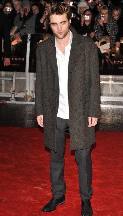 Robert Pattinson sul tappeto rosso