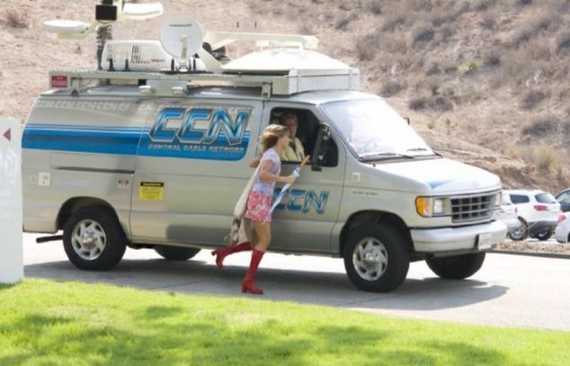 Sandra Bullock in un'immagine del film All About Steve