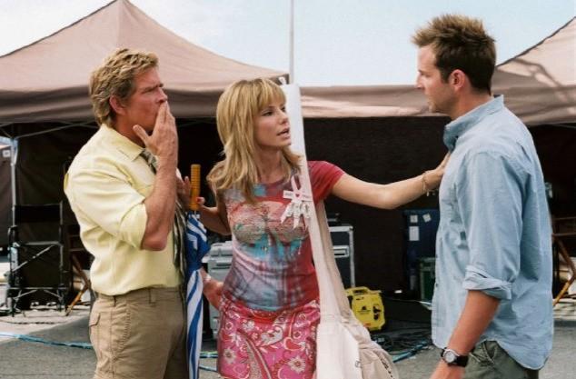 Thomas Haden Church, Sandra Bullock e Bradley Cooper in una scena di All About Steve