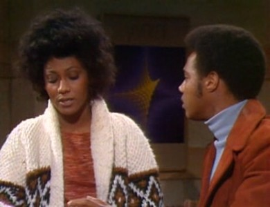 Berlinda Tolbert e Mike Evans nell'episodio Lionel the Playboy de I Jefferson