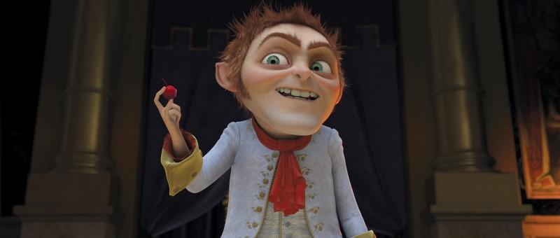 Il malefico Tremotino nel film Shrek e vissero felici e contenti