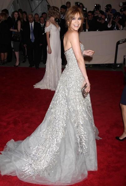 Jennifer Lopez a una serata di gala al Metropolitan Museum di NY