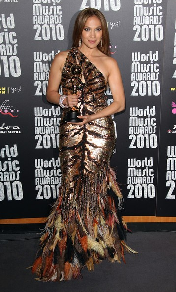 Jennifer Lopez ai Word Music Awards 2010