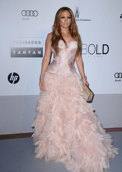 Jennifer Lopez all'amfAR party