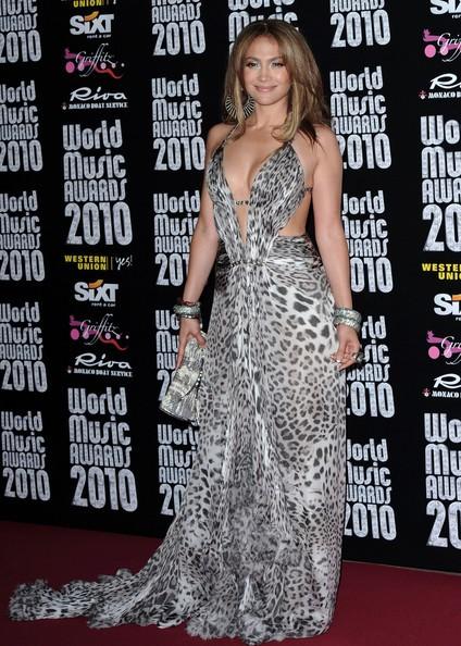 Jennifer Lopez sexy ai World Music Awards