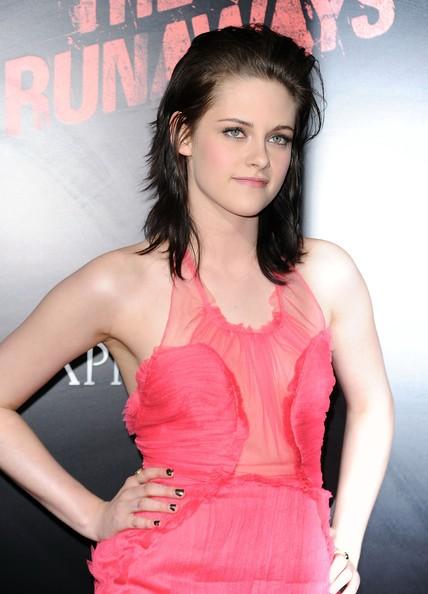 Kristen Stewart alla premiere di LA di The Runaways