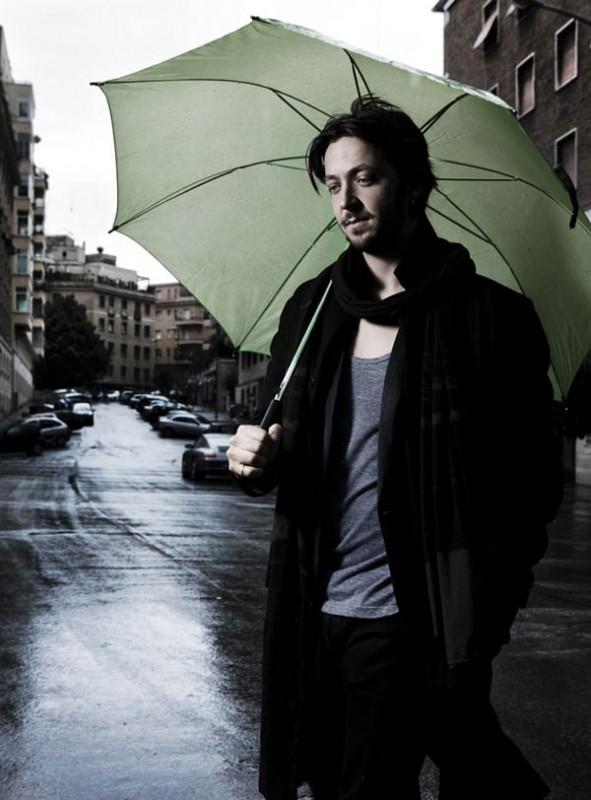 l'attore, regista e sceneggiatore Silvio Muccino
