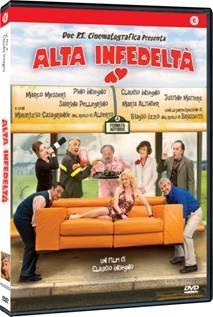 La copertina di Alta infedeltà (dvd)
