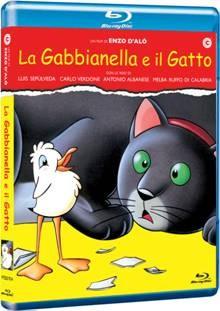 La copertina di La gabbianella e il gatto (blu-ray)