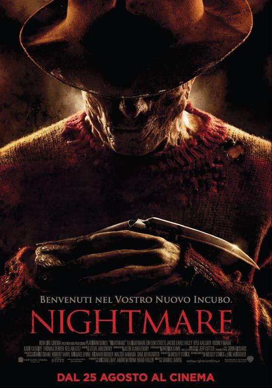 La locandina italiana di Nightmare