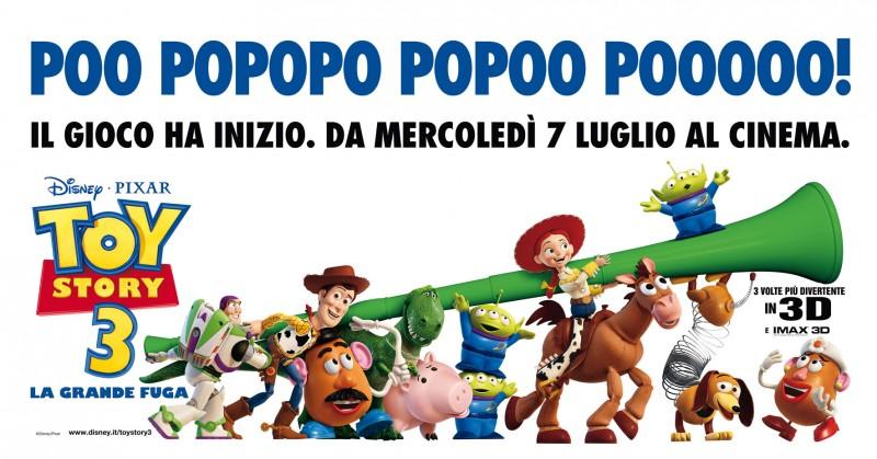La vuvuzela finisce anche tra le mani dei personaggi di Toy Story 3 ai Mondiali 2010