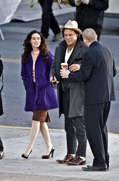 Megan Fox e Mickey Rourke