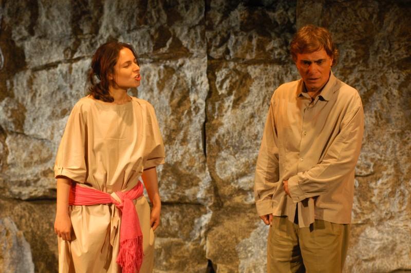 Taormina Arte, Teatro Greco: Antonio Orfanò con Lorenza Caroleo in Upupa My Dream is My Rebel King