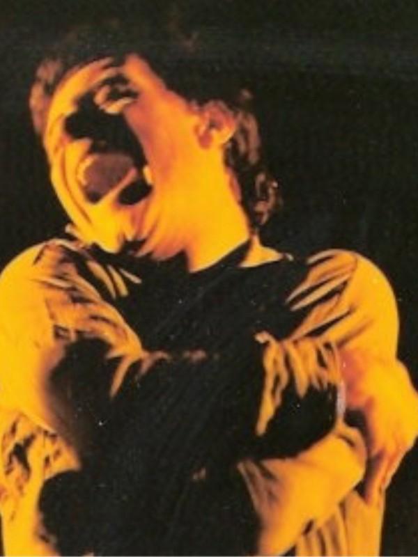 Taormina, Teatro Greco: Antonio Orfanò in una scena drammatica di Upupa My Dream is My Rebel King